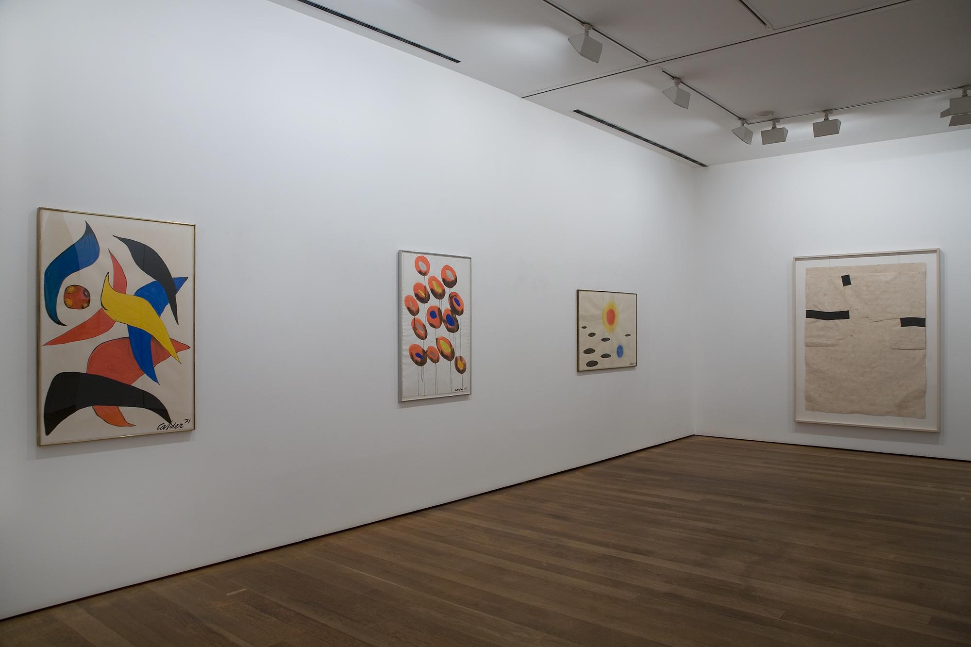 Calder, Chillida, Serra, Picasso (2011)