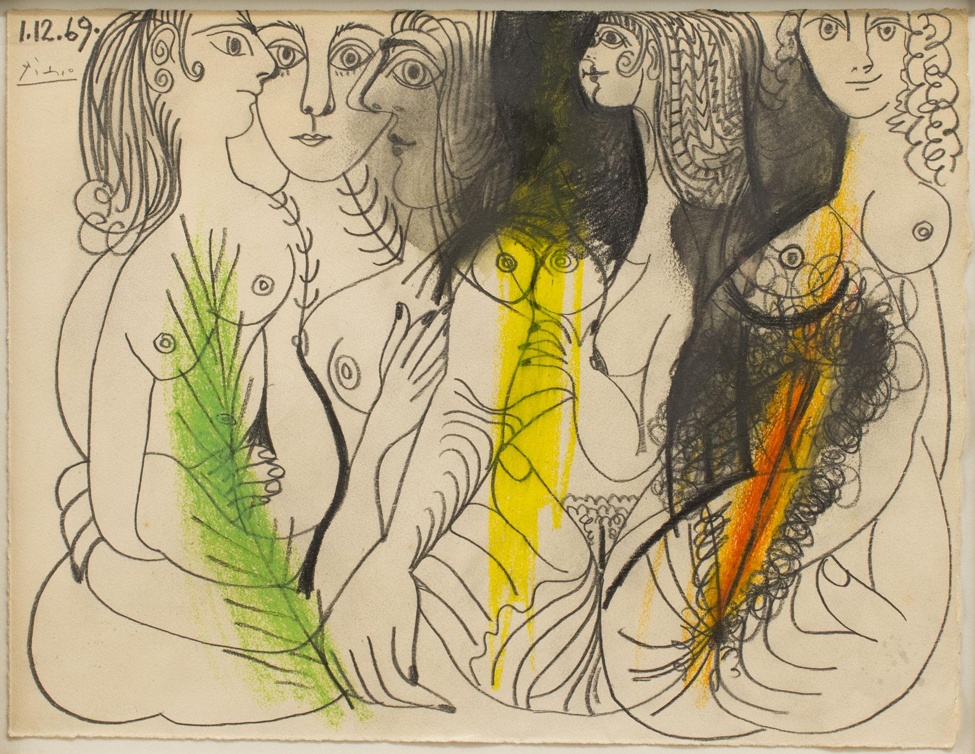 Once dibujos de Picasso (2016)