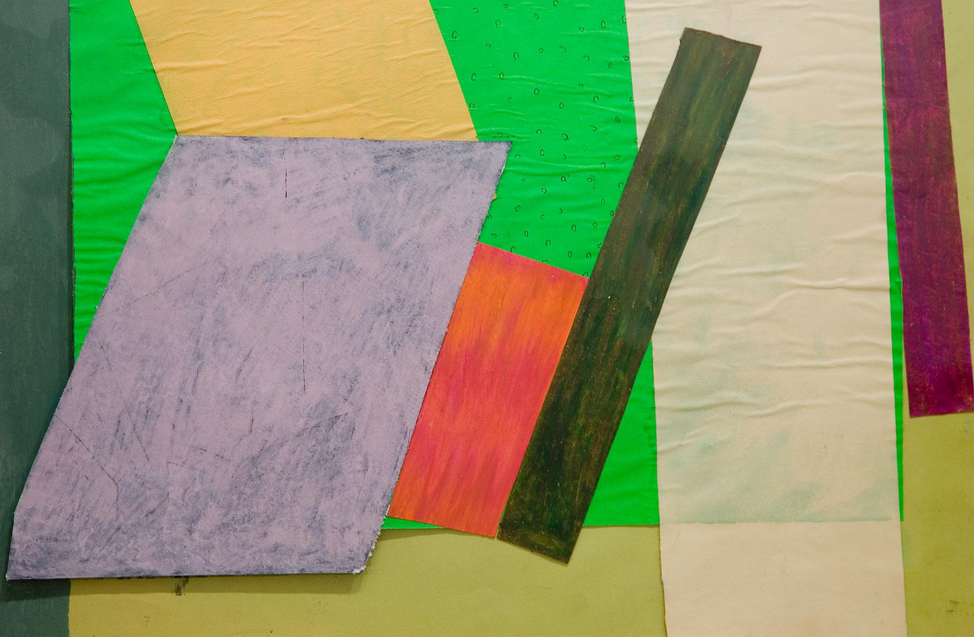 Jessica Stockholder (2011) - Underpinning